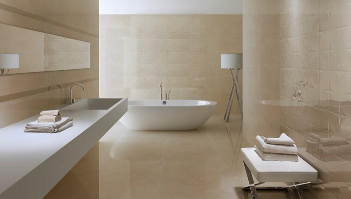 azulejo rectificado en gran formato ref 02557ev57br 30x90 blanco y beige - Azulejo Rectificado
